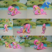Custom Fluttershy rainbow power (blind bag) by ShiveringCanvas