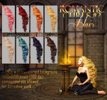 Romantic Curls #2 HAIR STOCK by Trisste-stocks