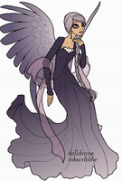 Rayne wing human/angel form by Frost-Fire-Kruger
