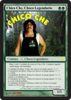 Chico Che Magic Card by LoboHibiky