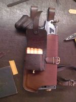 Nerf Holster Prototyp-1.2 by Leder-Joe