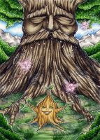 ATC: The Great Deku-Tree by 1000Dreams