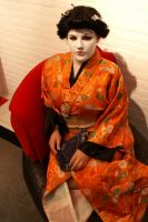 another time me as a geisha by muisie