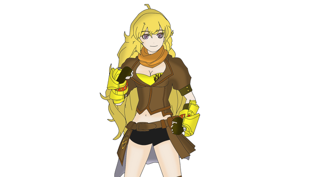 Yang Xiao Long (RWBY) by TheStealthDrawings