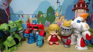 Autobots, roll out and let's party! by LittleKunai