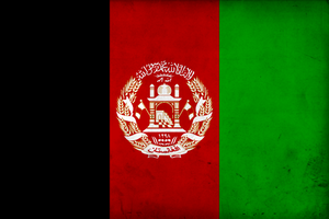 Grunge Flag of Afghanistan by pnkrckr