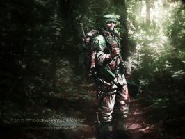 Imperial Guard Forest by Vamrek