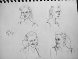 Sketch Study - Molly Hooper by lexieken