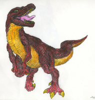 T-Rex by BenRusk