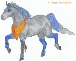 Lelecat - horse version by Anna-XIII