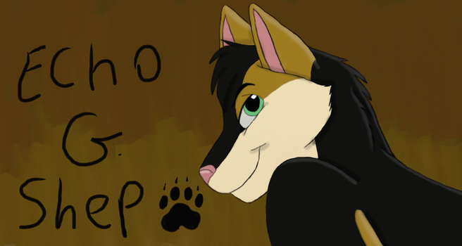Point commission for EchoGShep by SolitaryGrayWolf
