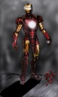 Iron Man by estrm