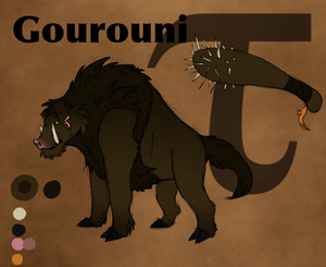 Gourouni- The Calydonian Boar