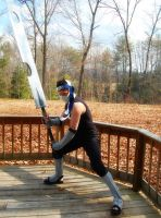 Zabuza Momochi Cosplay 3 by littlecasaroo