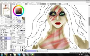 Nyx WIP 2 by uNDYINGSILENCE