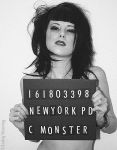 pinup mugshot by candeecampbell
