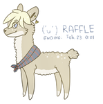[CLOSED] Raffle #4: Alpaca by Alisenokmice