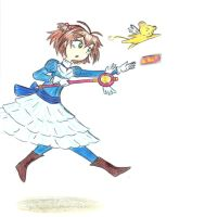 The Card Captor by Ana-The-Unknown