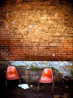 abandoned chairs by rosagia