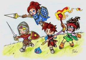 It's Dragon Quest Time!! by Pol00