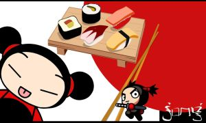 pucca by afronoodles