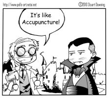 acupuncture...? by Pells-art