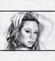 Mariah Carey by MikeRobinsArt