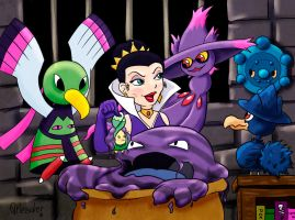 Evil Queen Team by VibaFleischer