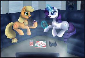 Hooves and Movies by pridark