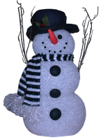 Snowman Background Removed by WDWParksGal-Stock