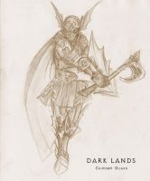 Dark Lands-Crimson Guard by WhiteFenrril