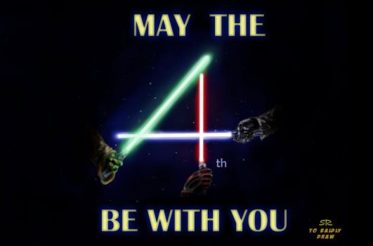 May the 4th be with you by ShacharLaudon