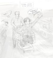 A German's grocery shopping by TechnoRanma