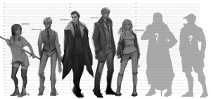 Height Chart by Iiely