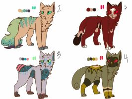 Adopts??? :OPEN: by magdaIine