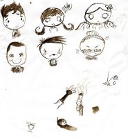 Don't Starve doodles by TheIrishAngel