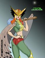 Young Justice Hawkgirl by Inspector97