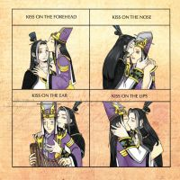 Huai x Yi : Kiss meme by yamirenamon