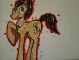 Doctor whooves by LaurenDaydream