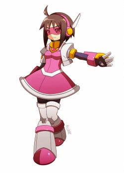 .:comms:. Megaman oc? by Keichan411
