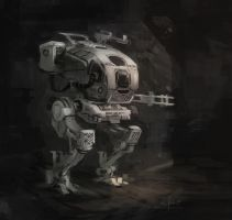 Mech sketch 01 by memod