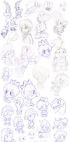 Doodles 7 by Nintendrawer