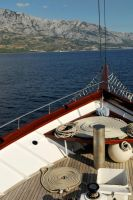 Sailing to Makarska by wildplaces