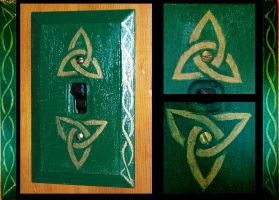 Celtic Switchplate by Oreramar