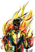 Man on Fire by chrismoet