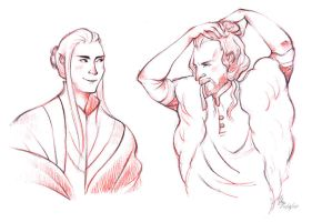 Manbuns of Middle-Earth by pheika