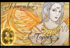 November - Topaz by ravenlachrimae