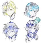 :COM: Headshot 6th Batch by AngelicsMana
