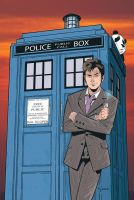 Doctor Who Annual color by KellyYates