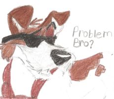 Dodger: problem bro? by dinowolf0049056